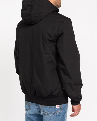 8 Wolfeboro Dulcey - Water-Resistant Jacket for Men Black U1JKF2ELF0 Element