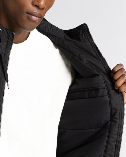 5 Wolfeboro Dulcey - Water-Resistant Jacket for Men Black U1JKF2ELF0 Element