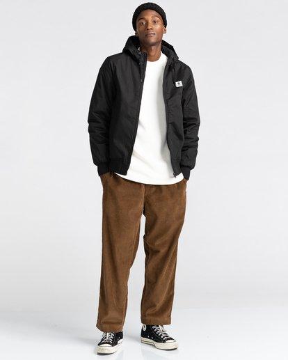 6 Wolfeboro Dulcey - Water-Resistant Jacket for Men Black U1JKF2ELF0 Element