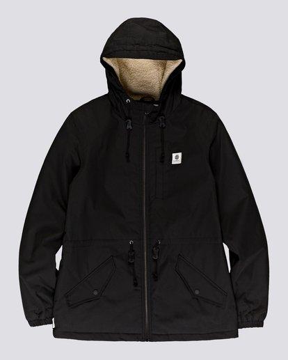 0 Wolfeboro Stark - Water-Resistant Jacket for Men Black U1JKF4ELF0 Element