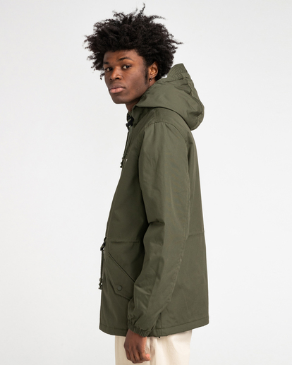 2 Wolfeboro Stark - Water-Resistant Jacket for Men Green U1JKF4ELF0 Element