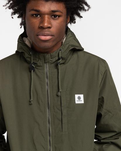 3 Wolfeboro Stark - Water-Resistant Jacket for Men Green U1JKF4ELF0 Element