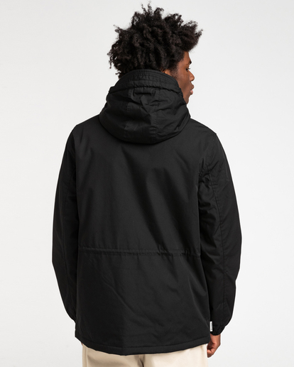 4 Wolfeboro Stark - Water-Resistant Jacket for Men Black U1JKF4ELF0 Element