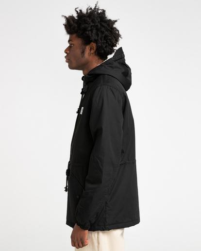 2 Wolfeboro Stark - Water-Resistant Jacket for Men Black U1JKF4ELF0 Element