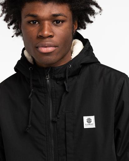 3 Wolfeboro Stark - Water-Resistant Jacket for Men Black U1JKF4ELF0 Element