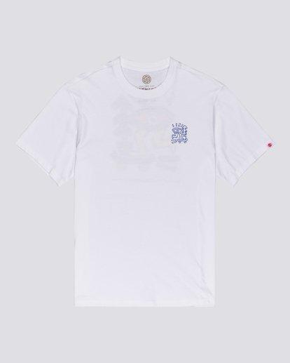 1 Larimer - T-shirt pour Homme Blanc U1SSJ6ELF0 Element