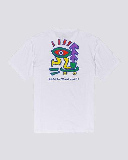 0 Larimer - T-shirt pour Homme Blanc U1SSJ6ELF0 Element