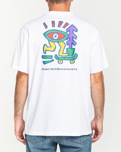 2 Larimer - T-shirt pour Homme Blanc U1SSJ6ELF0 Element