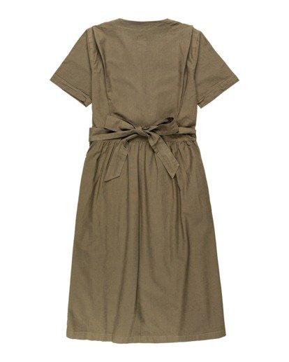 1 Kayla - Robe pour Femme Vert U3DRA2ELF0 Element