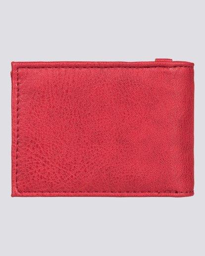 3 Segur - Portefeuille pour Homme Rouge U5WLB1ELPP Element