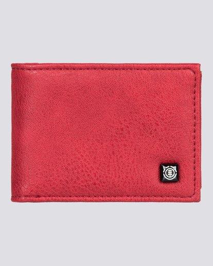 0 Segur - Portefeuille pour Homme Rouge U5WLB1ELPP Element