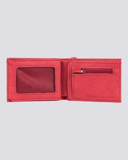 1 Segur - Portefeuille pour Homme Rouge U5WLB1ELPP Element