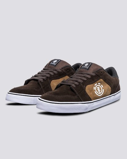 1 Heatley - Recycled & Organic Shoes for Men Brown U6HEA101 Element