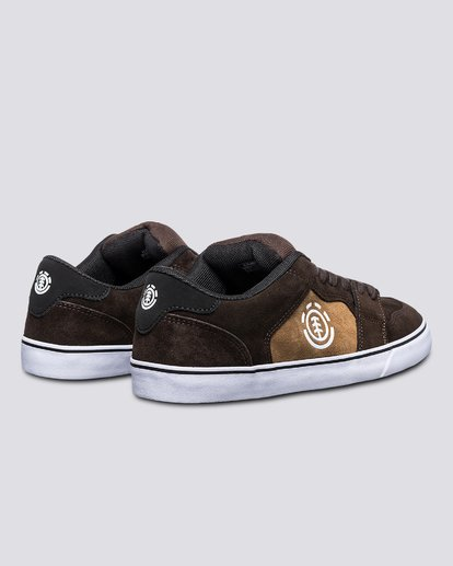 2 Heatley - Recycled & Organic Shoes for Men Brown U6HEA101 Element