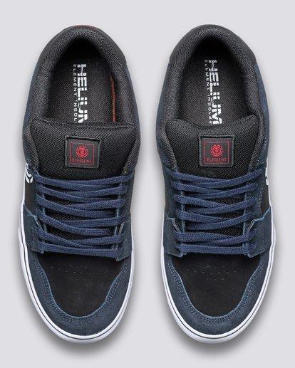 3 Heatley - Recycled & Organic Shoes for Men Blue U6HEA101 Element