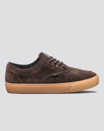 0 Topaz C3 - Recycled & Organic Shoes for Men Brown U6TC3101 Element