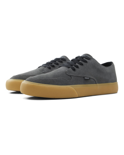 1 Topaz C3 - Recycled & Organic Shoes for Men Grey U6TC3101 Element