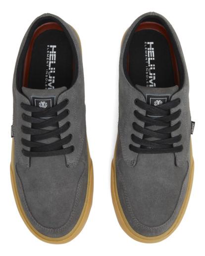 3 Topaz C3 - Recycled & Organic Shoes for Men Grey U6TC3101 Element