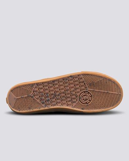 4 Topaz C3 - Recycled & Organic Shoes for Men Grey U6TC3101 Element