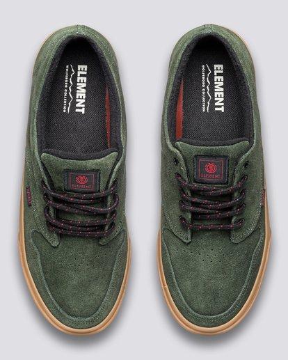 3 Topaz C3 - Recycled & Organic Shoes for Men Green U6TC3101 Element