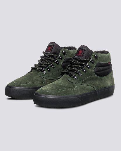 1 Wolfeboro Topaz C3 - Recycelte Bio-Mid-Top Schuhe für Männer Grün U6TM3101 Element