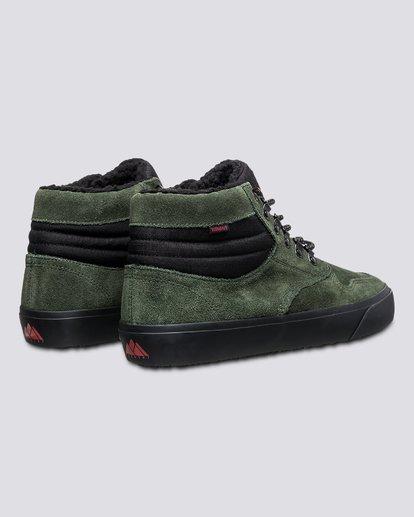 2 Wolfeboro Topaz C3 - Recycelte Bio-Mid-Top Schuhe für Männer Grün U6TM3101 Element