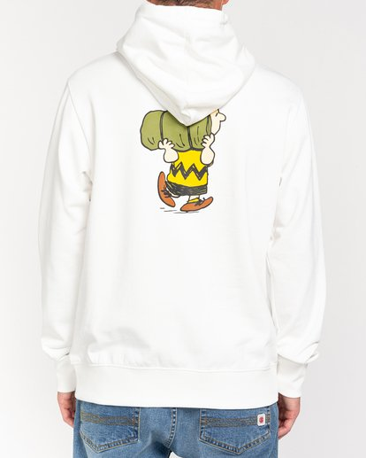 1 Peanuts Trekking - Sudadera con capucha para Hombre Blanco W1HOB3ELP1 Element