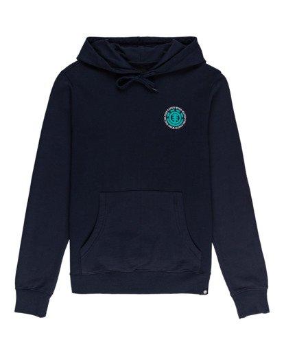 0 Seal - Sudadera con capucha para Hombre Azul W1HOB8ELP1 Element