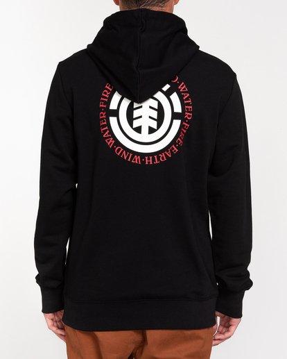 3 Seal - Sudadera con capucha para Hombre Negro W1HOB8ELP1 Element