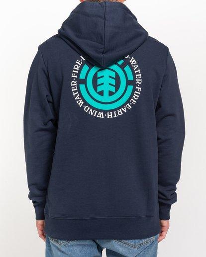 3 Seal - Sudadera con capucha para Hombre Azul W1HOB8ELP1 Element