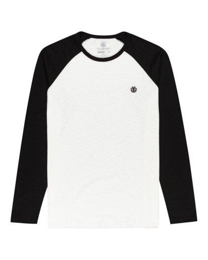 0 Blunt - Camiseta de Manga Larga para Hombre Negro W1LSB1ELP1 Element