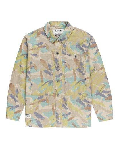 0 Nigel Cabourn Summer - Camisa-chaqueta Camo W1SHC9ELP1 Element