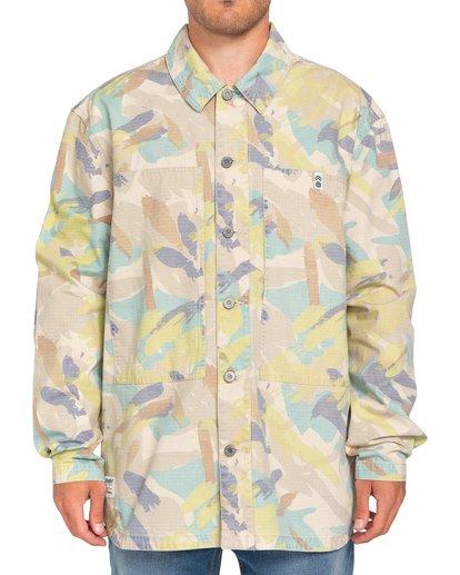 2 Nigel Cabourn Summer - Camisa-chaqueta Camo W1SHC9ELP1 Element
