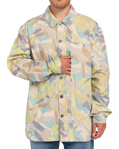3 Nigel Cabourn Summer - Camisa-chaqueta Camo W1SHC9ELP1 Element