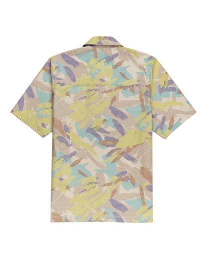 1 Nigel Cabourn Summer - Camisa de manga corta Camo W1SHD1ELP1 Element