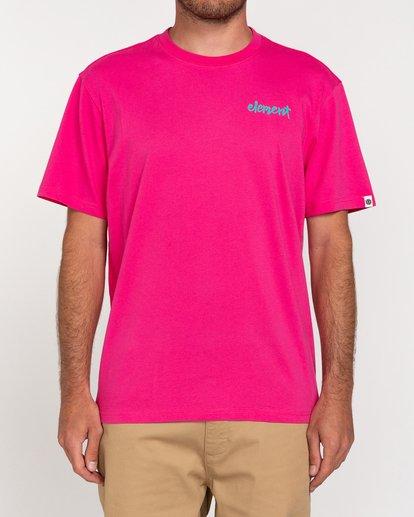 2 Henke - T-Shirt for Men Red W1SSH6ELP1 Element