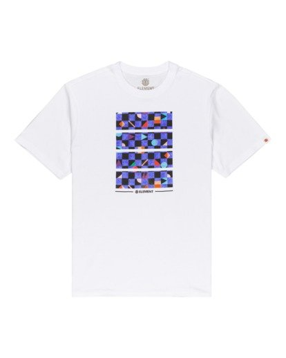 0 Prism Block - T-Shirt for Men White W1SSI5ELP1 Element