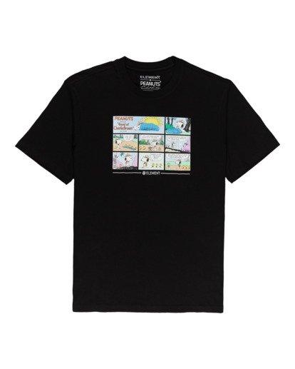 0 Peanuts Camper - T-Shirt for Men Black W1SSO4ELP1 Element