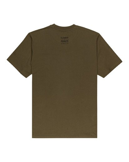 1 Peanuts Element - T-Shirt for Men Green W1SSO5ELP1 Element