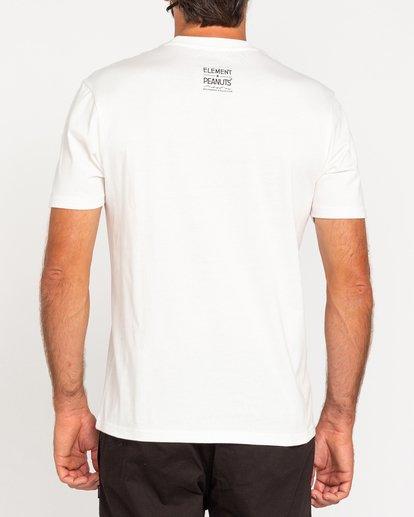 3 Peanuts Element - T-Shirt for Men White W1SSO5ELP1 Element