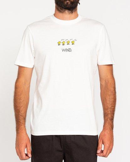 2 Peanuts Element - T-Shirt for Men White W1SSO5ELP1 Element