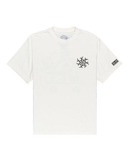 0 Fernando Elvira After Skate - Camiseta para Hombre Blanco W1SSP2ELP1 Element