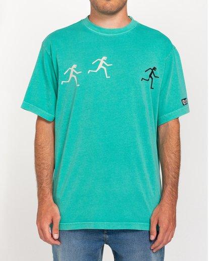 2 Fernando Elvira Summit - Camiseta para Hombre Azul W1SSP3ELP1 Element
