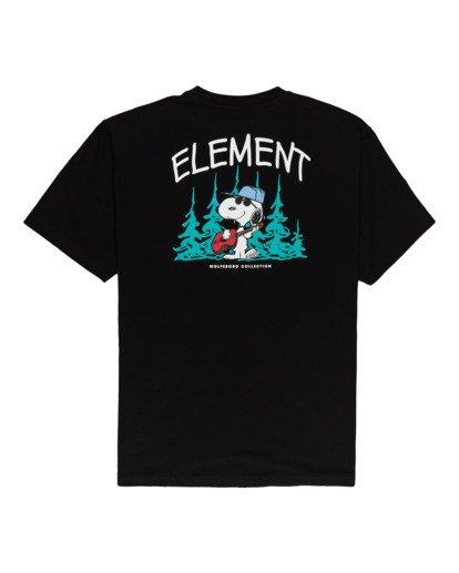 1 Peanuts Good Times - T-Shirt for Men Black W1SSP9ELP1 Element