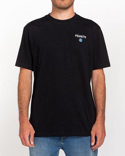 2 Peanuts Good Times - T-Shirt for Men Black W1SSP9ELP1 Element