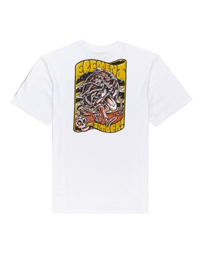 1 Timber! Nomadic - T-Shirt for Men White W1SSQ4ELP1 Element