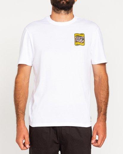 2 Timber! Nomadic - T-Shirt for Men White W1SSQ4ELP1 Element