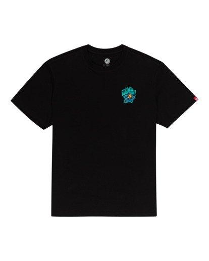 0 L'Amour Supreme Bashooka - T-Shirt Black W1SSR3ELP1 Element