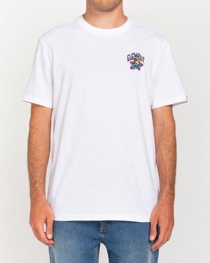 2 L'Amour Supreme Bashooka - Camiseta Blanco W1SSR3ELP1 Element
