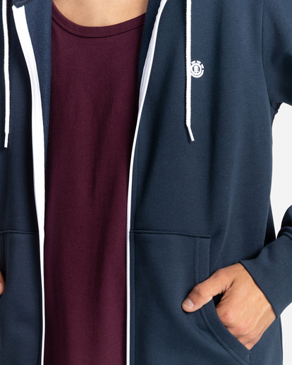 3 Cornell Classic - Zip-Up Hoodie for Unisex Blue W1ZHB4ELP1 Element